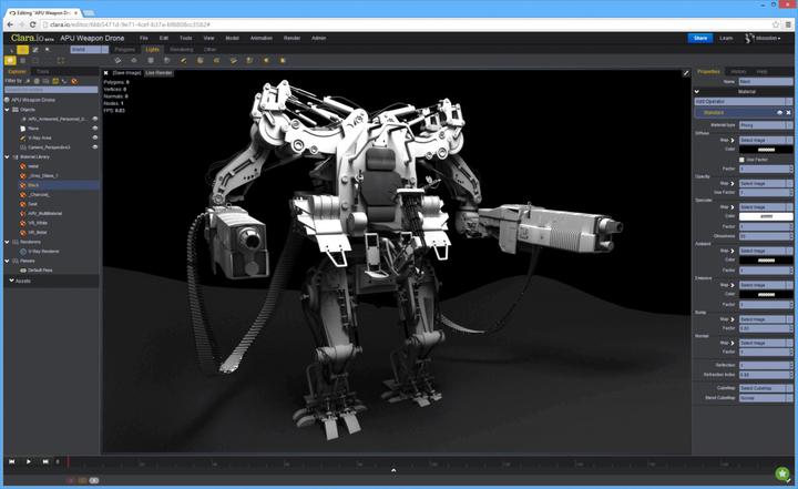 Desainer Tingkat Menegah Bisa Mencoba Software 3D Ini